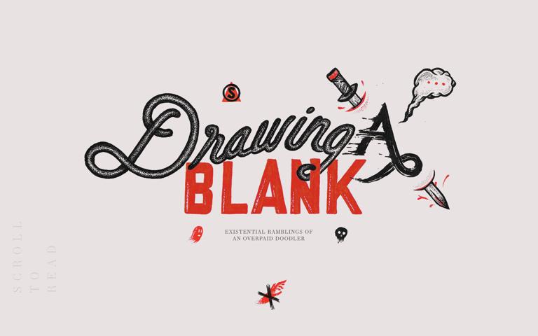 Screenshot of Drawing A Blank