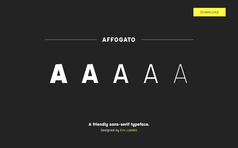 Screenshot of Affogato