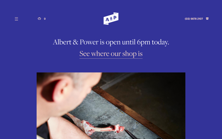 Screenshot of Albert & Power