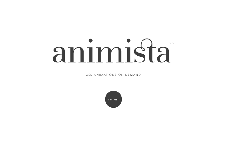 Screenshot of Animista