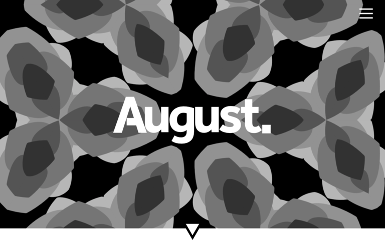 Screenshot of August