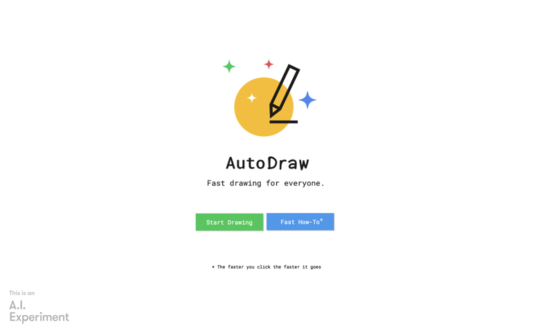 Screenshot of AutoDraw