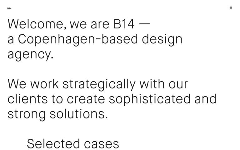 Screenshot of B14