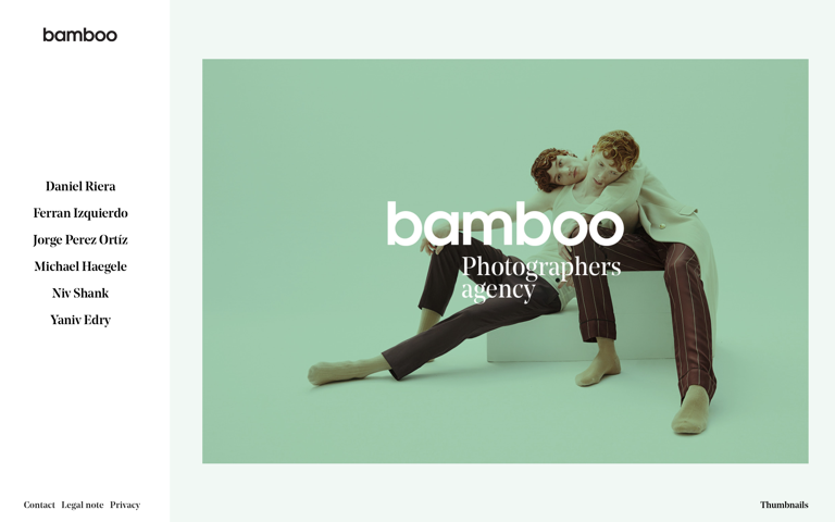 Screenshot of Bamboo