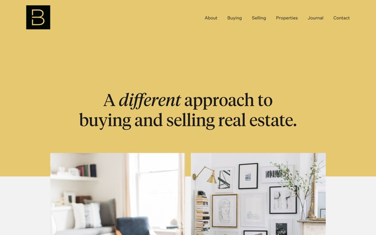 Screenshot of Berdan Real Estate