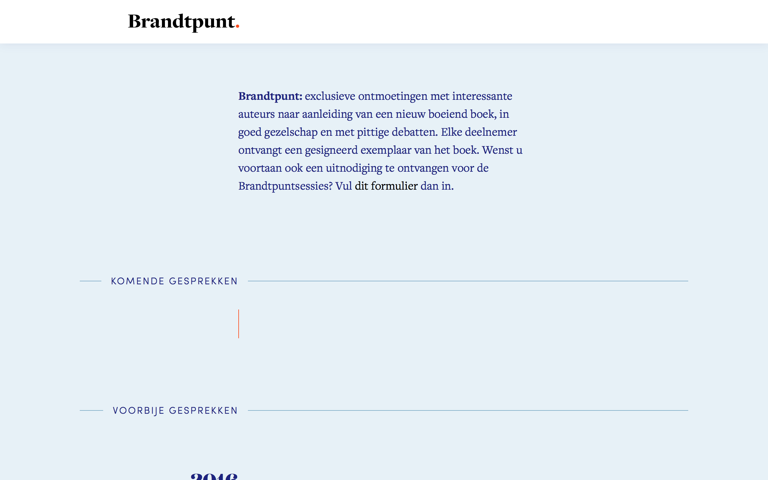 Screenshot of Brandtpunt