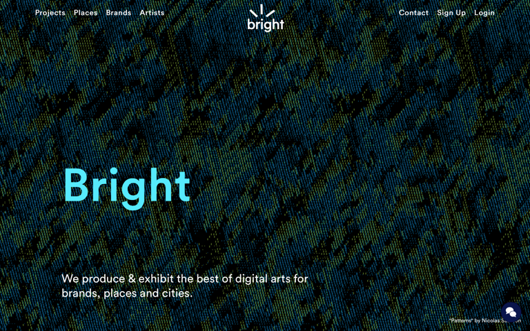 Screenshot of Bright