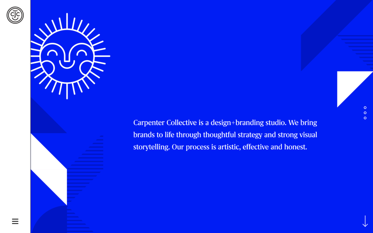 Screenshot of Carpenter Collective