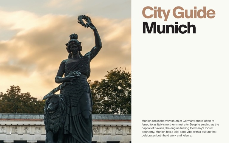Screenshot of City Guide: Munich