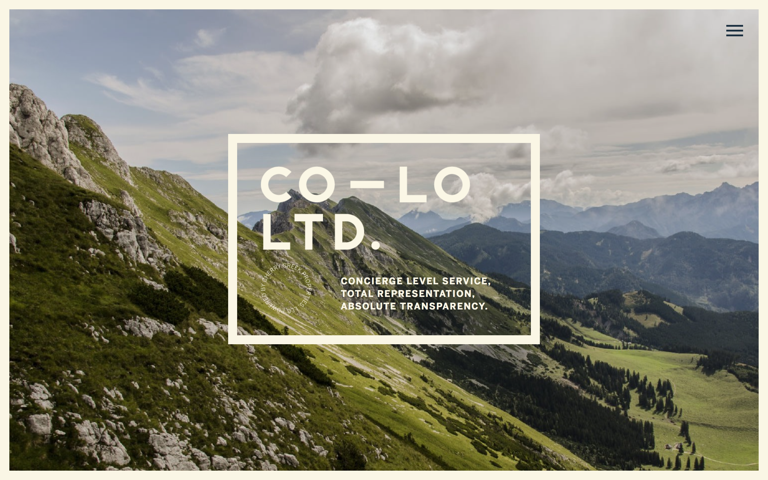 Screenshot of CO–LO Ltd.