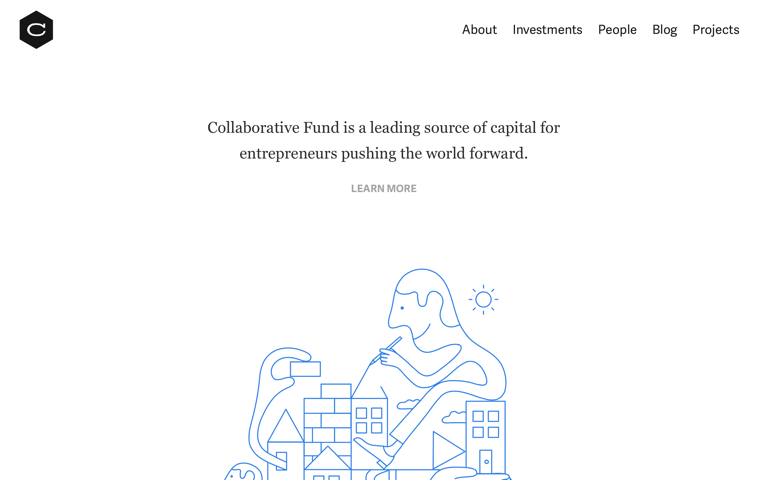 Screenshot of Collaborative Fund