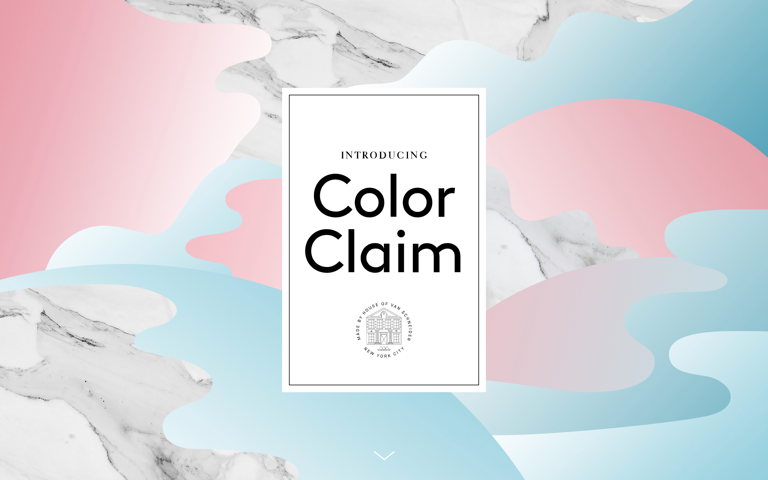 Screenshot of ColorClaim