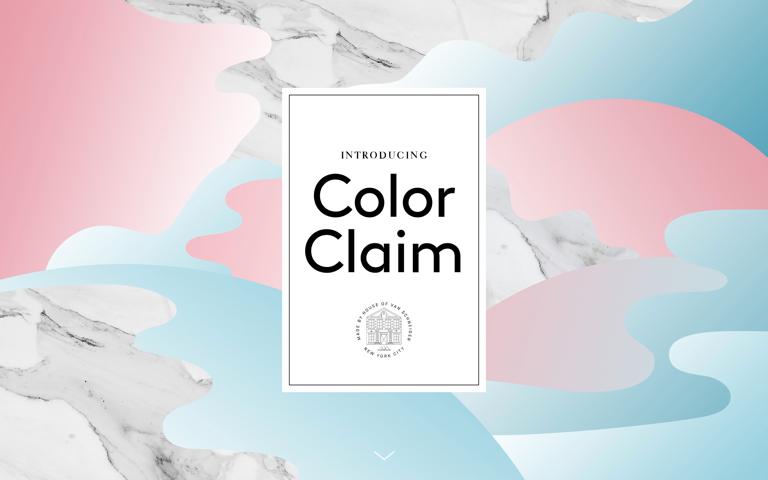 Screenshot of ColorClaim