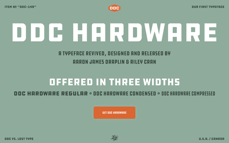 Screenshot of DDC Hardware
