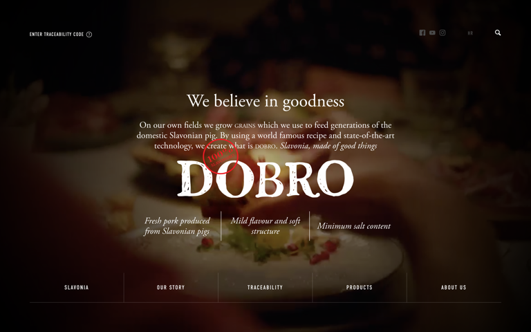 Screenshot of Dobro