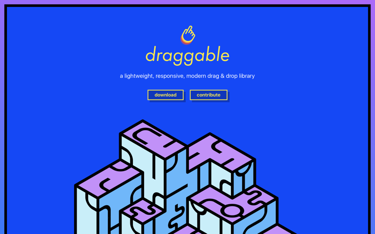 Screenshot of Draggable