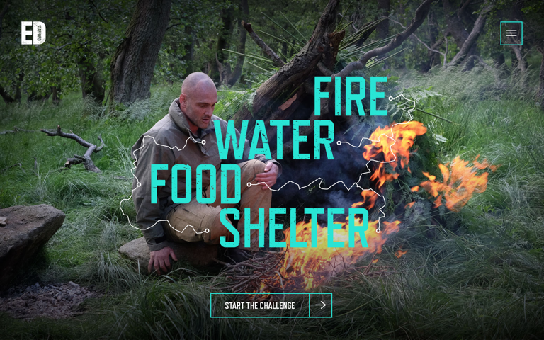 Screenshot of Ed Stafford