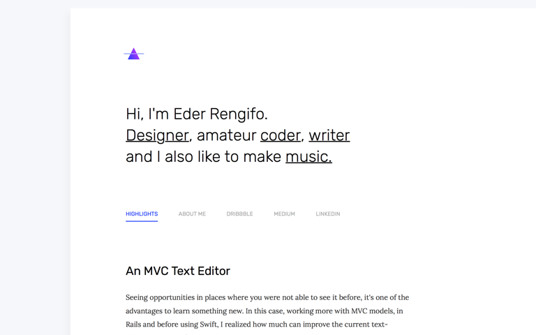 Screenshot of Eder Rengifo