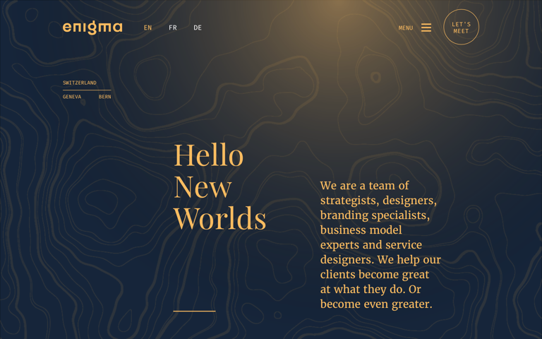 Screenshot of Enigma