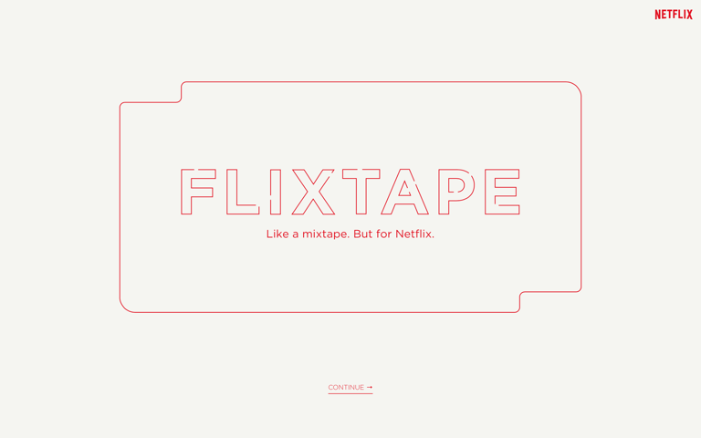 Screenshot of Flixtape