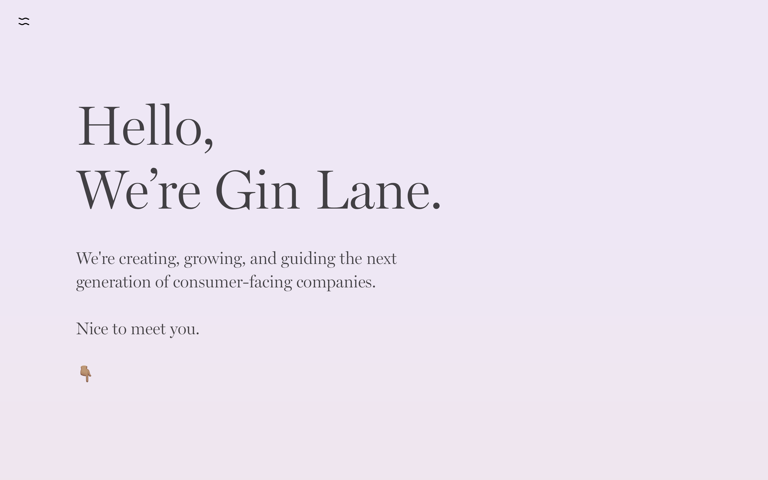 Screenshot of Gin Lane