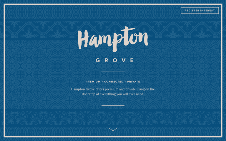 Screenshot of Hampton Grove