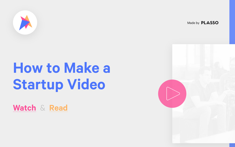 Screenshot of How to Make a Startup Video