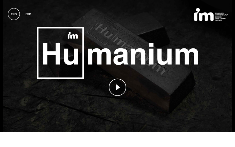 Screenshot of Humanium