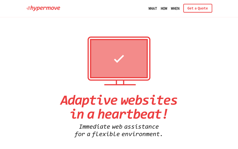 Screenshot of Hypermove