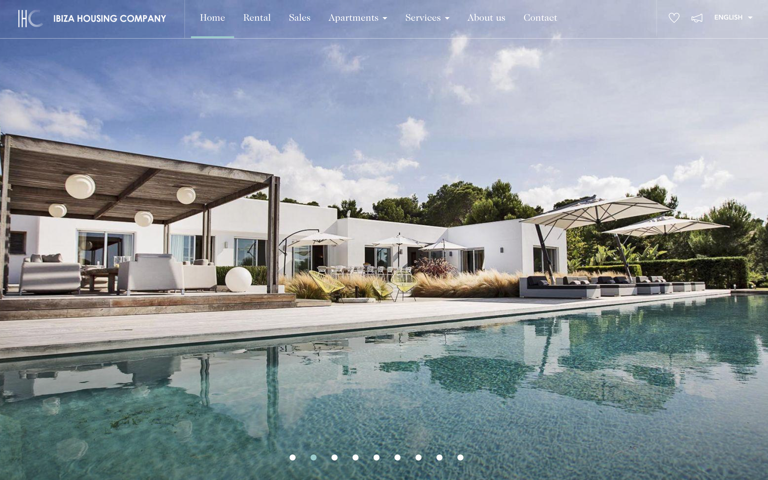 Screenshot of Ibiza Housing Company