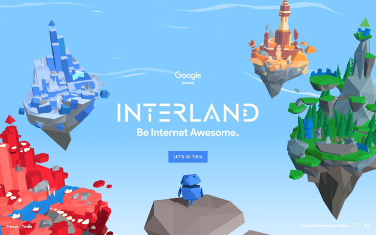 Screenshot of Interland
