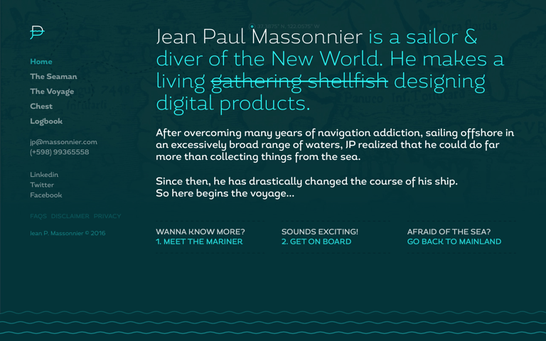 Screenshot of Jean Paul Massonnier