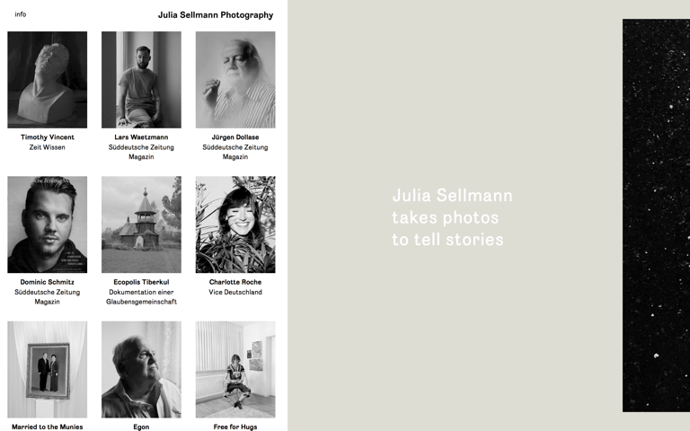 Screenshot of Julia Sellmann