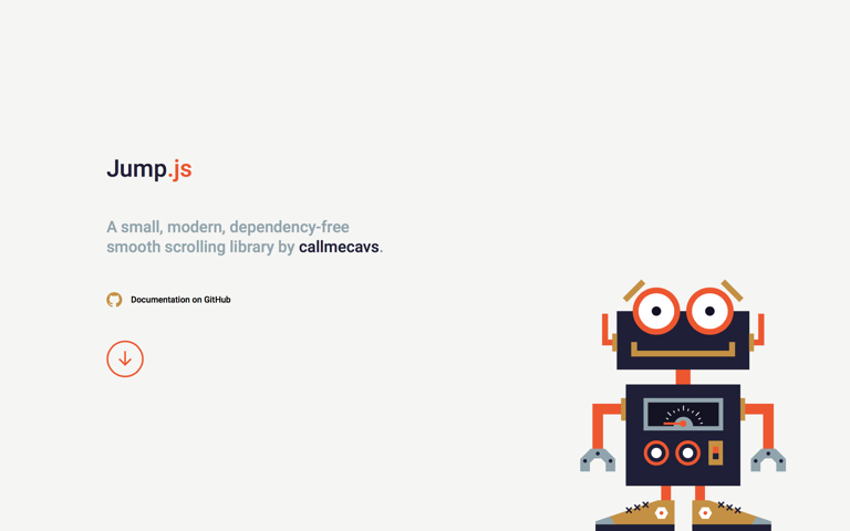Screenshot of Jump.js