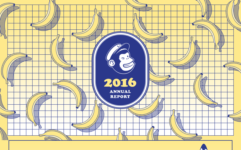 Screenshot of MailChimp 2016 Annual Report