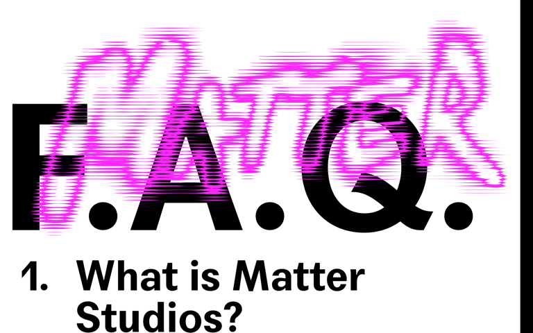 Screenshot of Matter Studios
