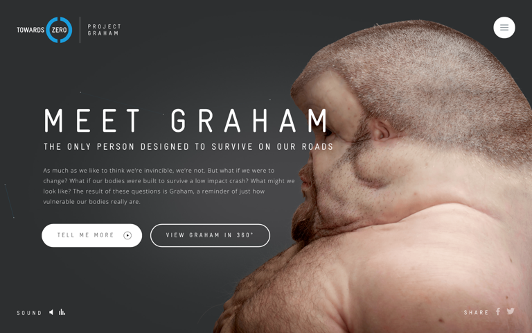 Screenshot of Meet Graham