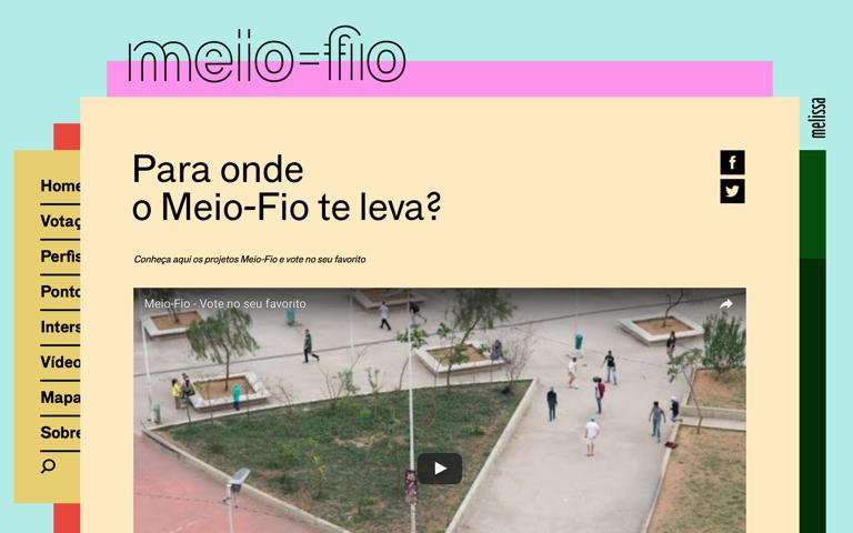 Screenshot of Melissa Meio-Fio