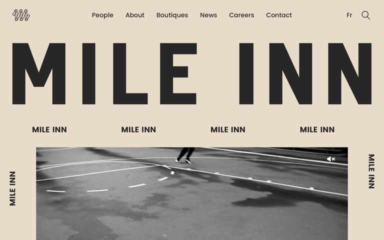 Screenshot of Mile Inn