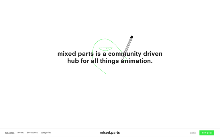 Screenshot of Mixed Parts