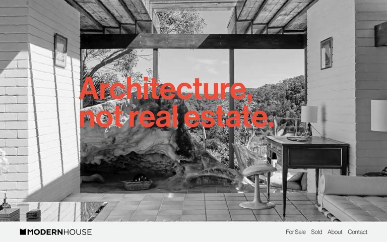 Screenshot of Modern House