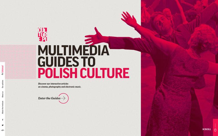 Screenshot of Multimedia Guides to Polish Culture