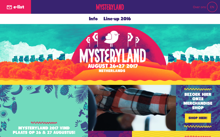 Screenshot of Mysteryland