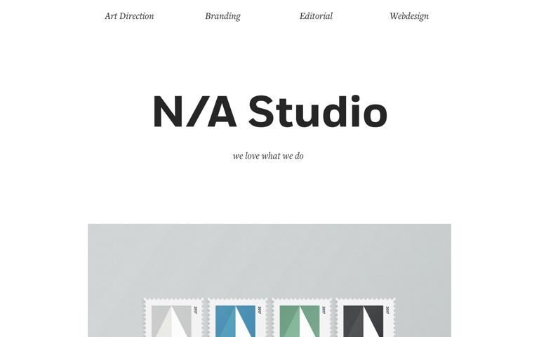 Screenshot of N/A Studio