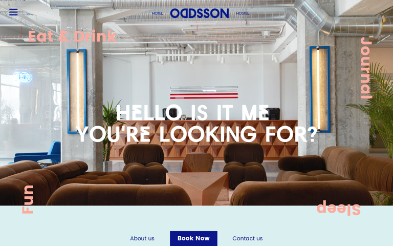 Screenshot of Oddsson