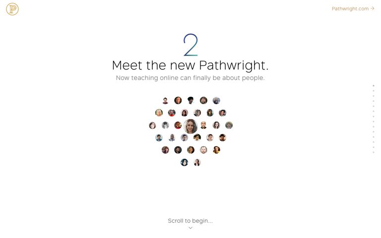Screenshot of Meet the new Pathwright