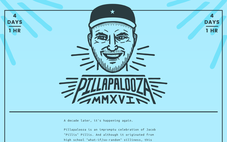 Screenshot of Pillapalooza