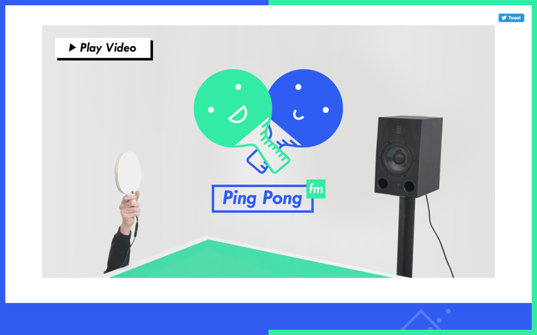 Screenshot of Ping Pong FM