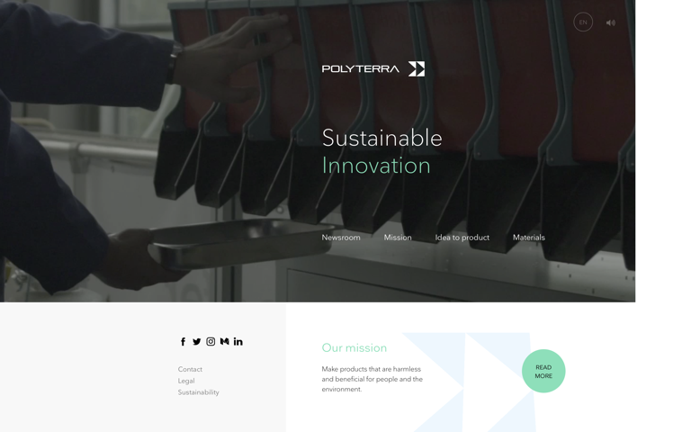 Screenshot of Polyterra