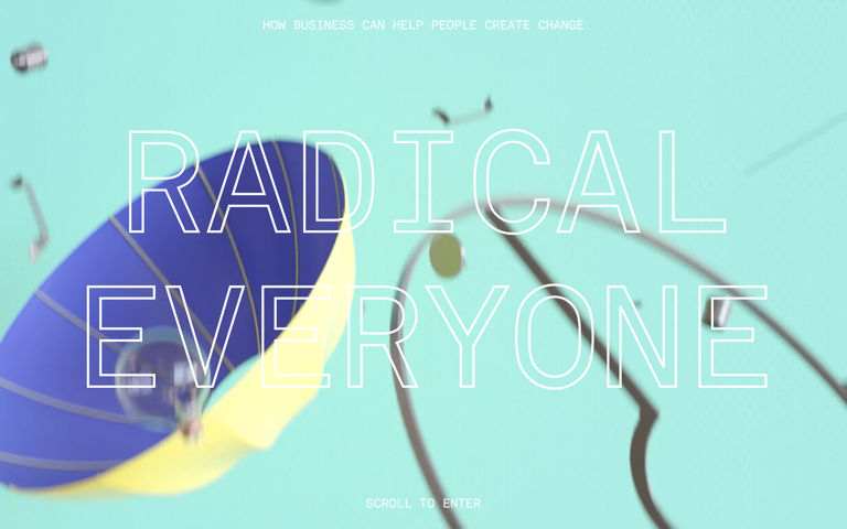 Screenshot of Radical Everyone